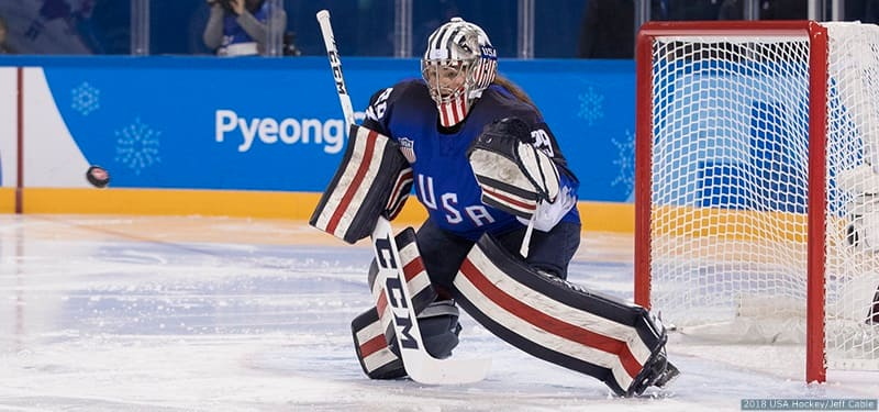 U S Women S Hockey Goalie Growth On Display At Women S National