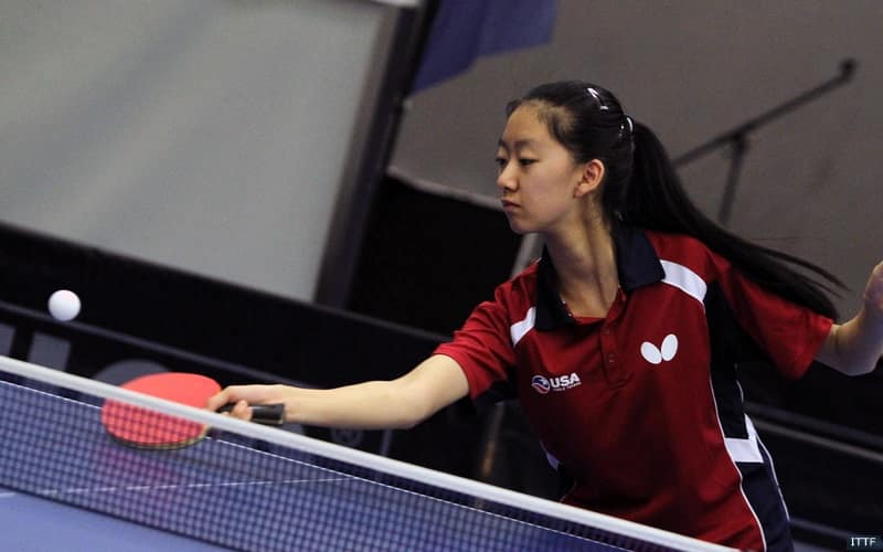 Amy Wang Wins Cadet Singles In Belgium