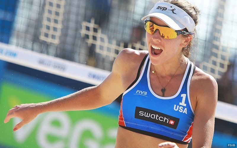 Irene Pollock will compete at the FIVB beach event in Shepparton