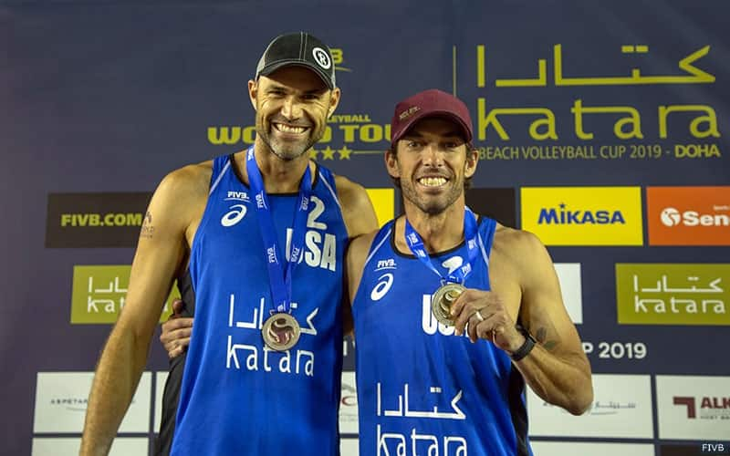 Phil Dalhausser and Nick Lucena
