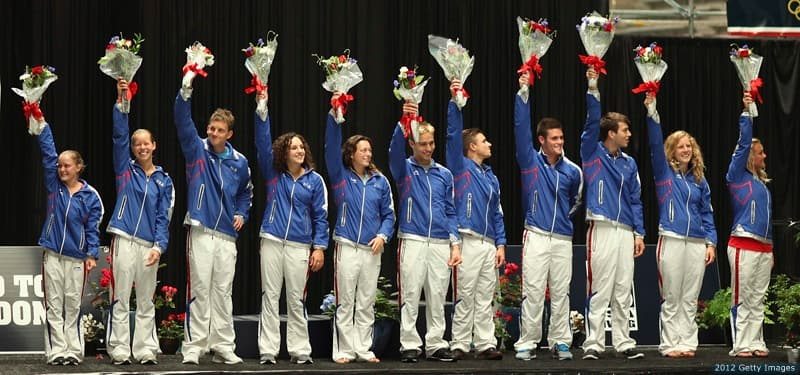2012 U.S. Olympic Diving Team