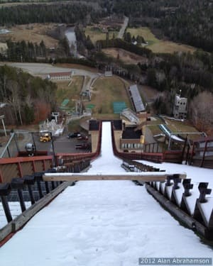 View From Lake Placid Ski Jump