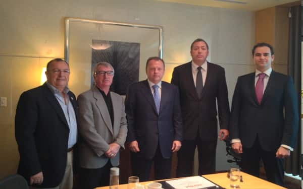 President of the International Judo Federation meets with USA Judo leadership