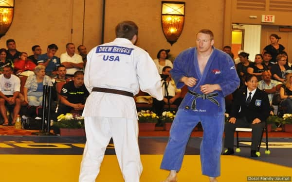 Myles Porter at 2012 Judo U.S. Open in Miami
