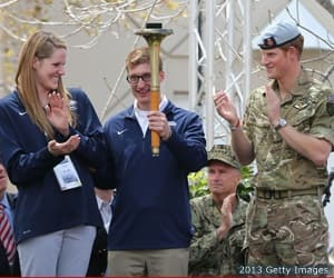 Missy Franklin, U.S. Navy Lt. Brad Snyder and Prince Harry