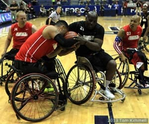 Army defeated Marine Corps 34-32 for the gold medal at the 2013 Warrior Games presented by Deloitte