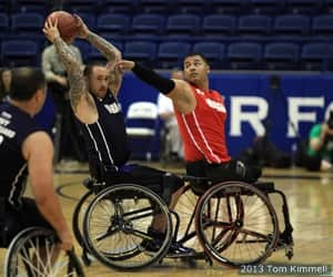 Navy won the bronze medal with a 49-18 loss to the Marine Corps at the 2013 Warrior Games presented by Deloitte