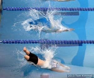 Swimming at the 2013 Warrior Games presented by Deloitte