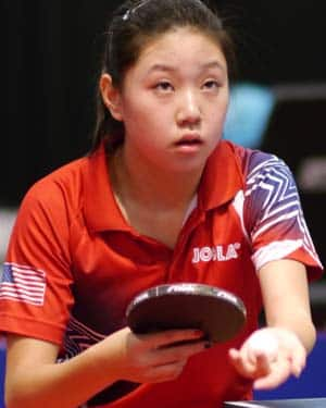 Lily Zhang, courtesy of ITTF