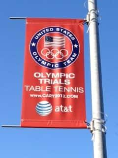 2012 Olympic Table Tennis Banner