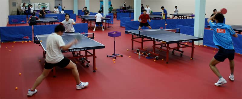 Lily Yip Table Tennis Center