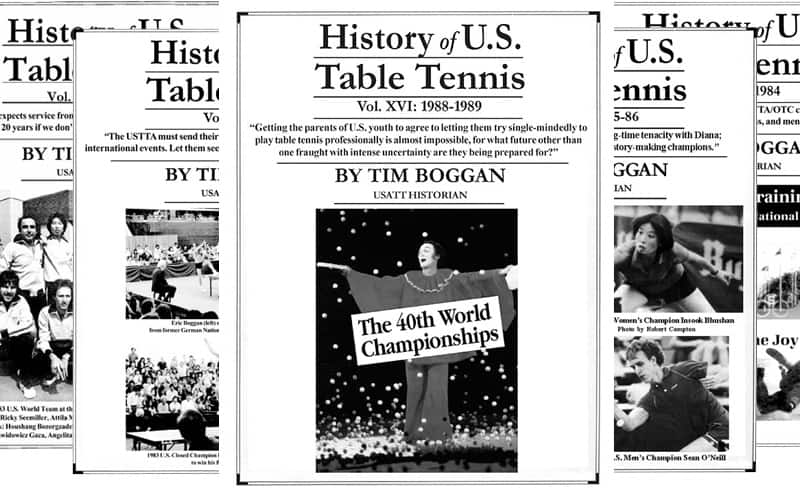 History of U.S. Table Tennis - Vol. 16