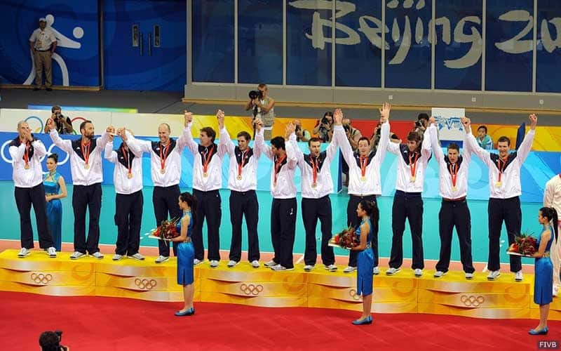 2008 U.S. Men's Team wins the gold medal in Beijing